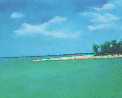 Pastel - Island Time by Anne Katzeff