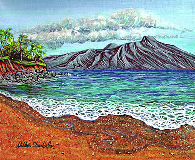 Island Time Art Print by Debbie Chamberlin