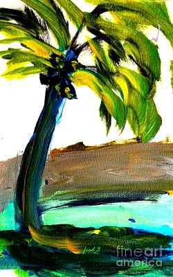 Painting - Island Time Signed Print by Fred Wilson
