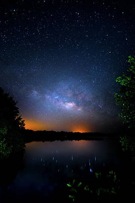 Macrocosm Photograph - Island Universe by Mark Andrew Thomas