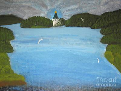 Painting - Island Valaam, Painting by Irina Afonskaya