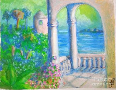 Painting - Island View by Jose Breaux