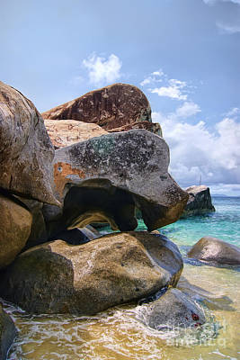 Photograph - Island Virgin Gorda The Baths by Olga Hamilton