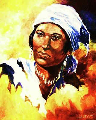 Painting - Island Woman II by Al Brown