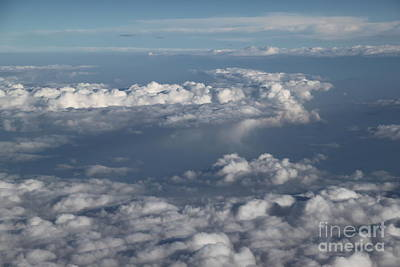 Photograph - Islands Of Clouds In The Sky by Jennifer E Doll
