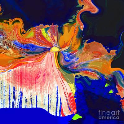 Digital Art - Islands In Apollostream by Zsanan Narrin