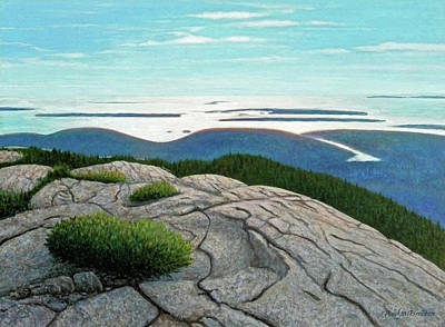 Windblown Painting - Islands In The Sky by Paul Breeden