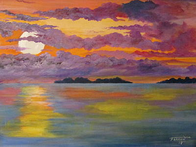 Painting - Islands Of Delight by Dave Farrow