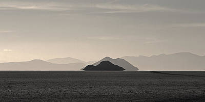 Photograph - Islands On The Salar by Ron Dubin