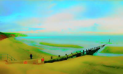 Photograph - Isle Breakwater by Jan W Faul