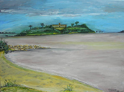 Charente Maritime Painting - Isle Madame by Kapy Art