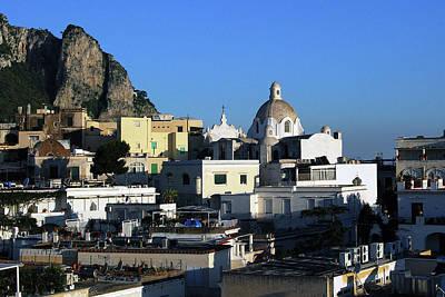 Photograph - Isle Of Capri - Skyline by Harvey Barrison