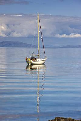 Photograph - Isle Of Colonsay, Scotland Sailboat On by John Short