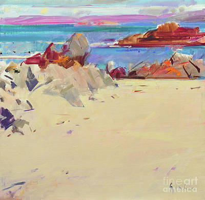 Painting - Isle Of Iona by Peter Graham