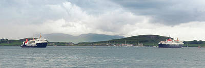 Photograph - Isle Of Mull And Scottish Ferries by Ray Devlin