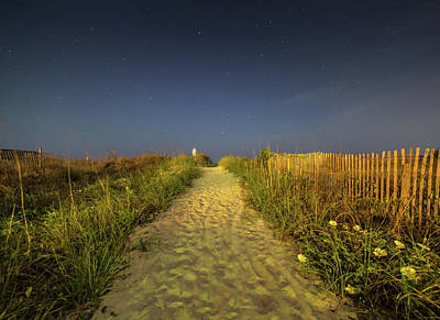 Photograph - Isle Of Palms Beach Path by Donnie Whitaker