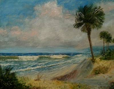 Isle Of Palms Painting - Isle Of Palms  by Tommy Beaver