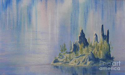 Painting - Isle Of Reflection by Lynn Quinn