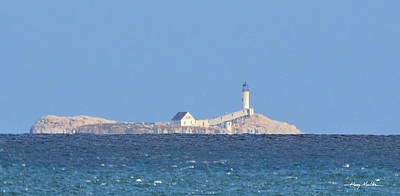 Pyrography - Isle Of Shoals Lighthouse by Harry Moulton