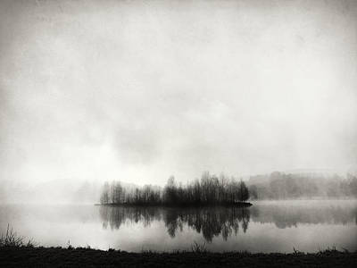 Mist Wall Art - Photograph - Isle Of Silence by Franz Bogner