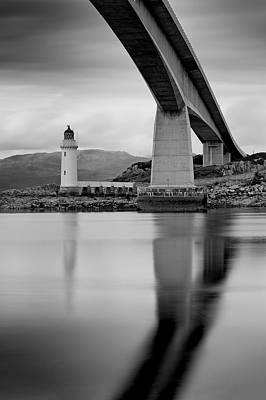Photograph - Isle Of Skye Road Bridge by Grant Glendinning