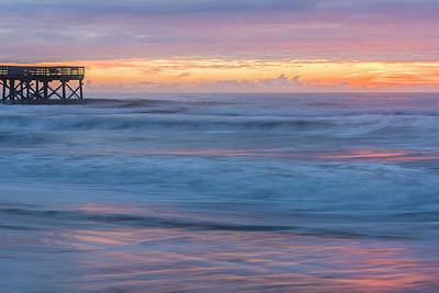 Photograph - Isle Of The Palms Sunrise #1 by Thomas Pettengill