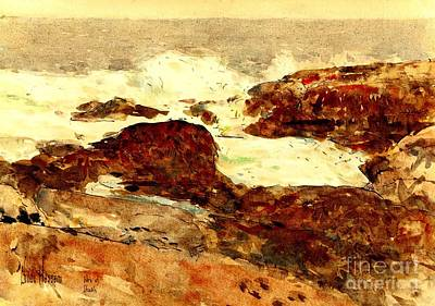 Painting - Isles Of Shoals 1891 by Peter Gumaer Ogden Collection
