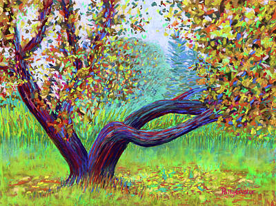 Painting - Islesford Apple Tree Near The Dock by Polly Castor