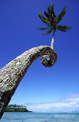 Photograph - Islet Muri Beach Lagoon Rarotonga Cook Islands South Pacific by Juergen Held