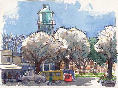 Painting - Isleton, California by Judith Kunzle
