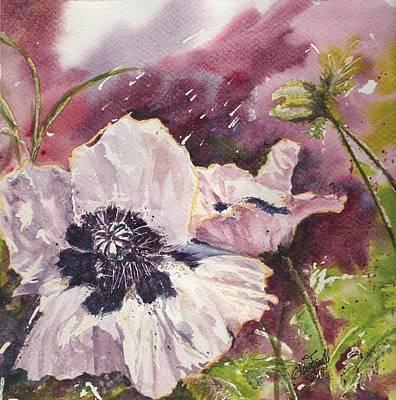 Crepe Paper Painting - Isn't She Lovely by Glenn Farrell