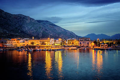 Photograph - Isola Delle Femmine Harbour by Ian Good