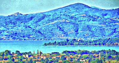 Photograph - Isola Polvese Lago Trasimeno by Dorothy Berry-Lound