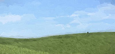 Farming Digital Art - Isolated II by Jon Glaser