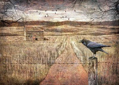 Digital Art - Isolation by Christina Lihani