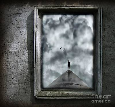 Dark Painting - Isolation by Jacky Gerritsen