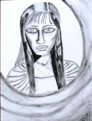 Painting - Isolde by Stefanie Hoelzle