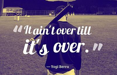 The Rolling Stones Royalty Free Images - Ispirational Sports Quotes  Yogi Berra Royalty-Free Image by Yogi Berra