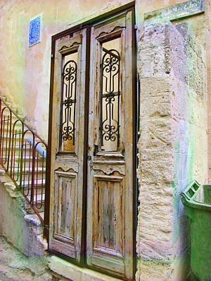 Photograph - Israel Door Rainbow by Donna L Munro