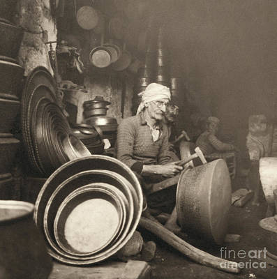 Photograph - Israel: Metal Workers, 1938 by Granger