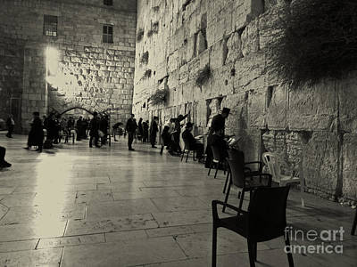 Photograph - Israel - Western Wall by Doc Braham