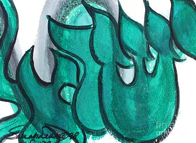 Painting - Israel  Yisrael 3 by Hebrewletters Sl