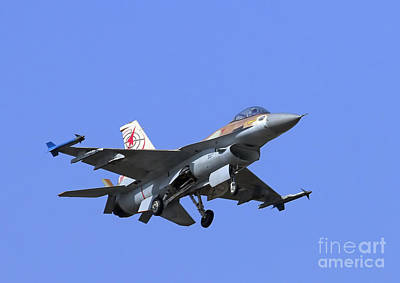 Photograph - Israeli Air Force F-16c #307 by Amos Dor