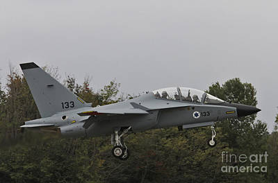 Photograph - Israeli Air Force M-346i Lavi #133 by Amos Dor