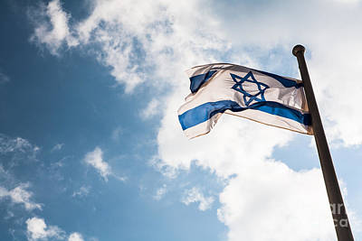Photograph - Israeli Flag by Kaitlyn Suter