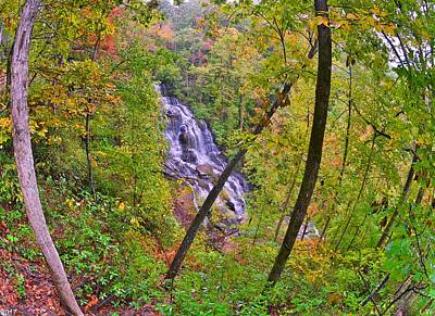 Photograph - Issaqueena Waterfall Sc by Lisa Wooten