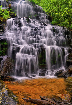Photograph - Issaqueena Cascade Falls 015 by George Bostian