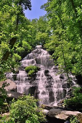 Photograph - Issaqueena Falls South Carolina Summertime by Lisa Wooten