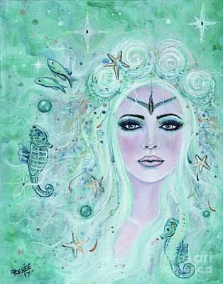 Painting - Issiana Mermaid by Renee Lavoie