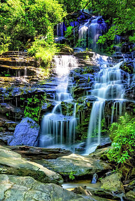 Photograph - Isssawueenna Falls In Hdr by Michael White